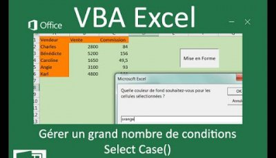 Select Case en VBA Excel pour gérer beaucoup de conditions